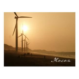 Bangui-Windmühlen Postkarte