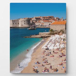 Banje Strand Fotoplatte