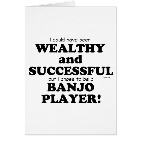 Banjo wohlhabend u. erfolgreich karte