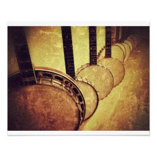 Banjos Foto Druck