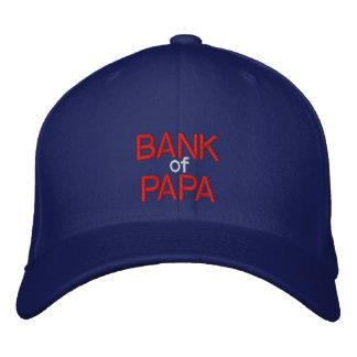 BANK DES PAPAS - kundengerechte Kappe bei