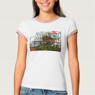 Bank u. Blumen T-Shirt