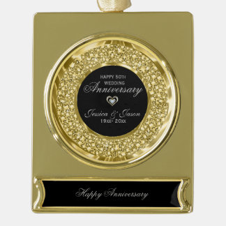 Banner-Ornament GOLD