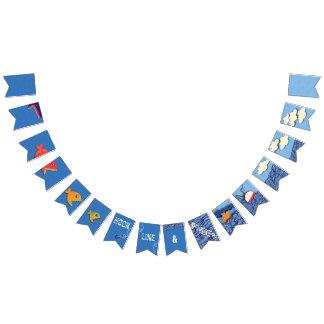Bannière À Fanions Crochet, ligne et navet