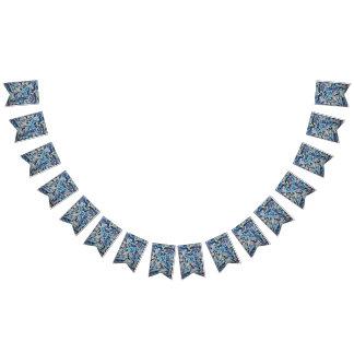 Bannière d'étamine de partie de machaon de diamant