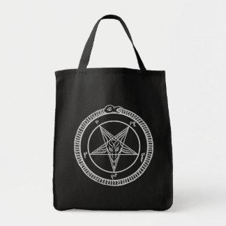 baphomet Pentagramtasche Einkaufstasche