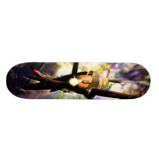 Baptême de planche à roulettes du feu skateboard 19,7 cm