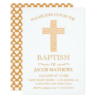 Baptême, invitation de baptême