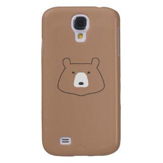 Bär brauner Kasten Samsung-Galaxie s4 Galaxy S4 Hülle