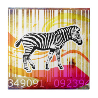 Bar-Code-Kunst-Entwurfs-vektorspaß-Farbe Keramikfliese