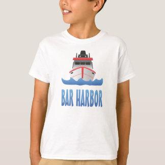 Bar-Hafen-Boot T-Shirt