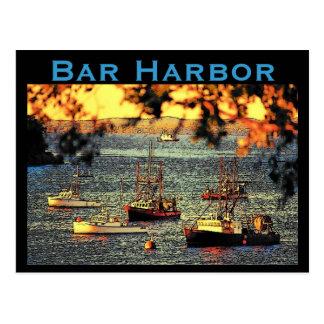 Bar-Hafen-Postkarte Postkarte