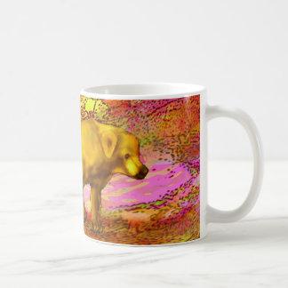Bär im Herbst-Totem Kaffeetasse