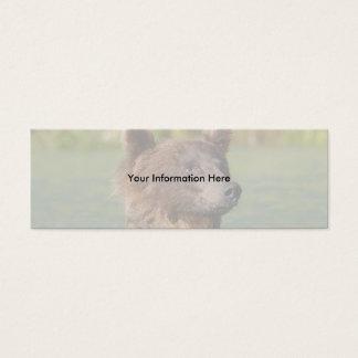 Bär Mini Visitenkarte