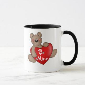 Bär mit Herzen ist meiner Tasse