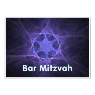 Bar Mitzvah 12,7 X 17,8 Cm Einladungskarte