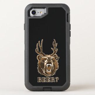 Bär, Rotwild oder Bier OtterBox Defender iPhone 8/7 Hülle
