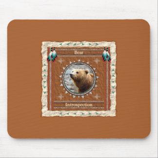 Bär - Selbstbeobachtung Mousepad