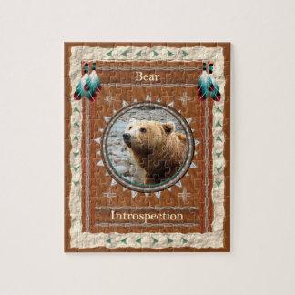 Bär - Selbstbeobachtungs-Puzzle mit Geschenkboxen