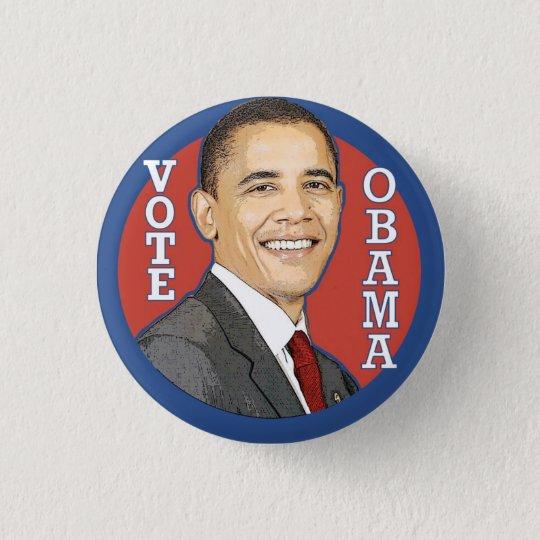 Barack Obama ABSTIMMUNG Knopf Runder Button 2,5 Cm
