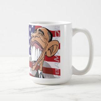 Barack Obama Cartoon-Karikatur CoffeeMug Kaffeetasse