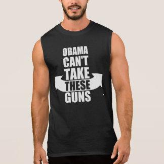 Barack Obama kann diese Gewehre nicht nehmen Ärmelloses Shirt
