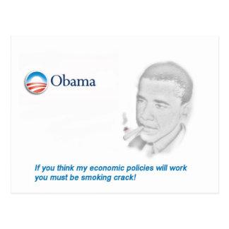 Barack Obama Protest Postkarten
