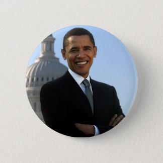 Barack Obama Runder Button 5,1 Cm