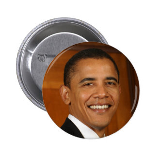 Barack Obama Runder Button 5,7 Cm