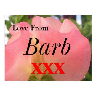 Barb Postkarte