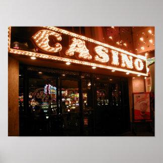 Barbary-Küsten-Las Vegas-Kasino-Eingangs-Plakat Poster