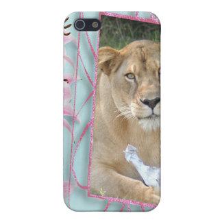 Barbary-Löwe-Speck-Kasten iPhone 5 Cover