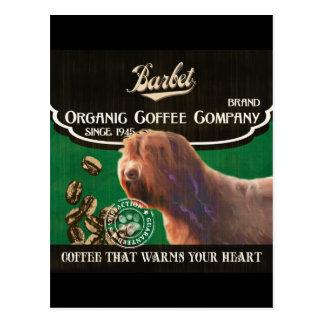 Barbet-Marke - Organic Coffee Company Postkarten