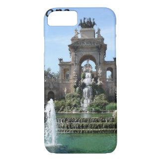 Barcelona--Brunnen--barc--[kan.k] .JPG iPhone 8/7 Hülle