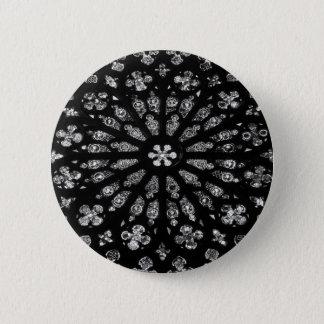 Barcelona-Fenster Runder Button 5,1 Cm