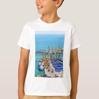 Barcelona-Hafen T-Shirt