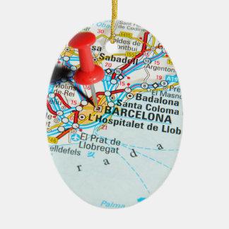 Barcelona, Spanien Keramik Ornament
