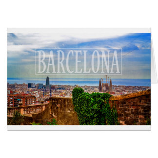 Barcelona-Stadt Karte