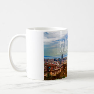 Barcelona-Stadt Tasse