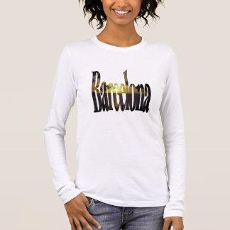 Barcelona-Strände Langarm T-Shirt