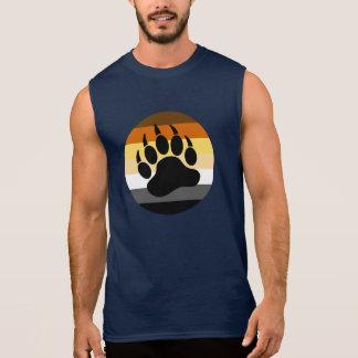 Bärenpranke im Bärn-Stolz-Kreis (große Front) Ärmelloses Shirt