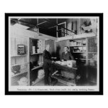 Bargeld-Raum in der US-Fiskus-Wölbung 1912 Posterdrucke