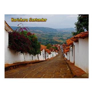 Barichara Santander Kolumbien Postkarte