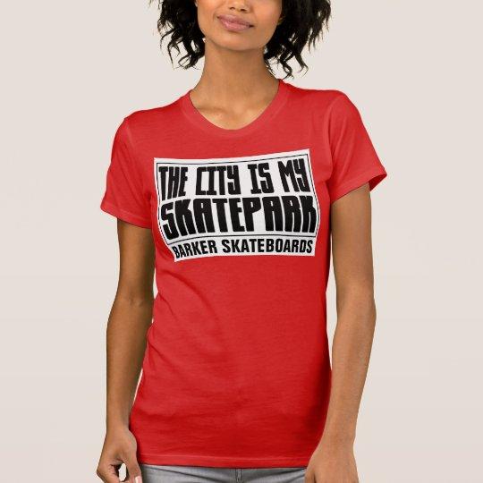 BARKER SKATEBOARDS (STADT IST MEIN SKATEPARK), T - T-Shirt