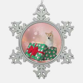 Barkley Geschenk - Zinn-Schneeflocke-Verzierung Schneeflocken Zinn-Ornament