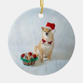 Barkley Sankt - Verzierung Rundes Keramik Ornament