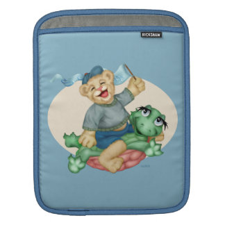 BÄRN-SCHILDKRÖTE-CARTOON iPad Sleeve Für iPads