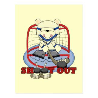 Bärn-Tormann-Trieb-heraus Hockey-T-Shirts und Postkarte