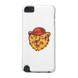 Bärn-tragender Hut-Hauptholzschnitt iPod Touch 5G Hülle