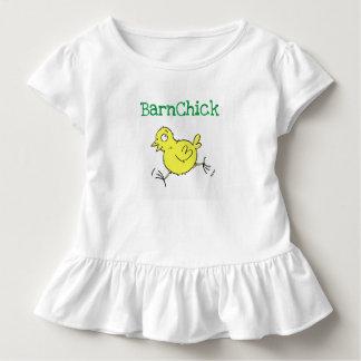 BarnChick Rüsche-T-Stück Kleinkind T-shirt